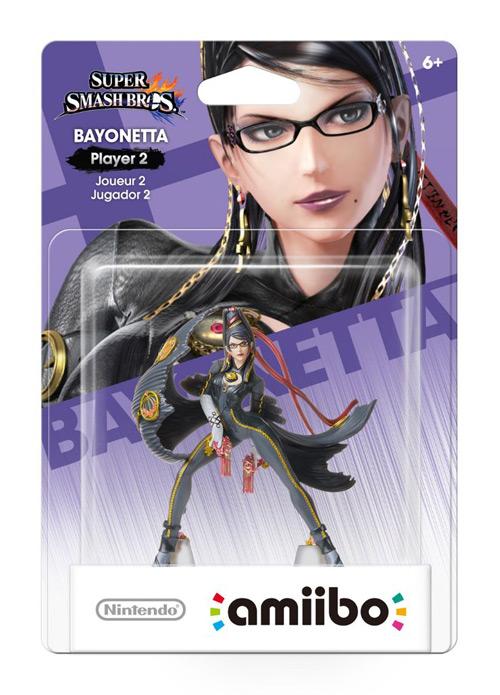 Boite amiibo Bayonetta - joueur 2