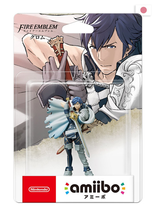 boite japonaise de l'amiibo Chrom collection Fire Emblem
