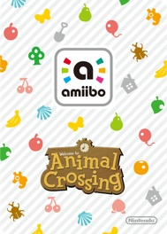 Dos des cartes Animal Crossing