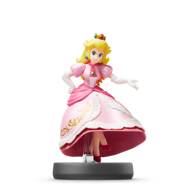 image de l amiibo Peach visible sur amiibo-collection.com