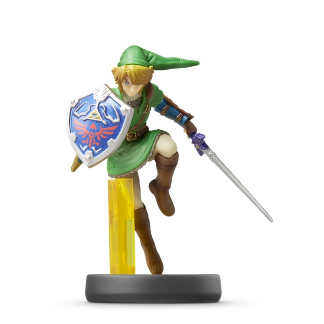 image de l amiibo Link™ visible sur amiibo-collection.com