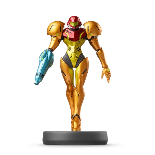image de l amiibo Samus™ visible sur amiibo-collection.com