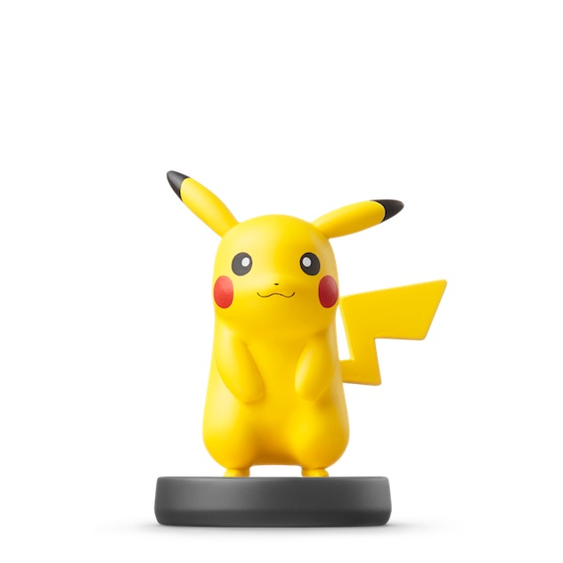 image de l amiibo Pikachu visible sur amiibo-collection.com