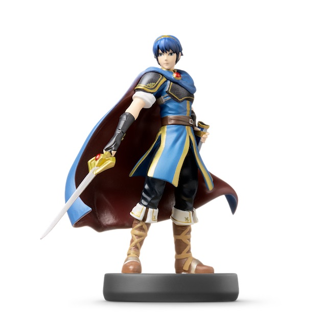 Marth visible sur amiibo-collection.com