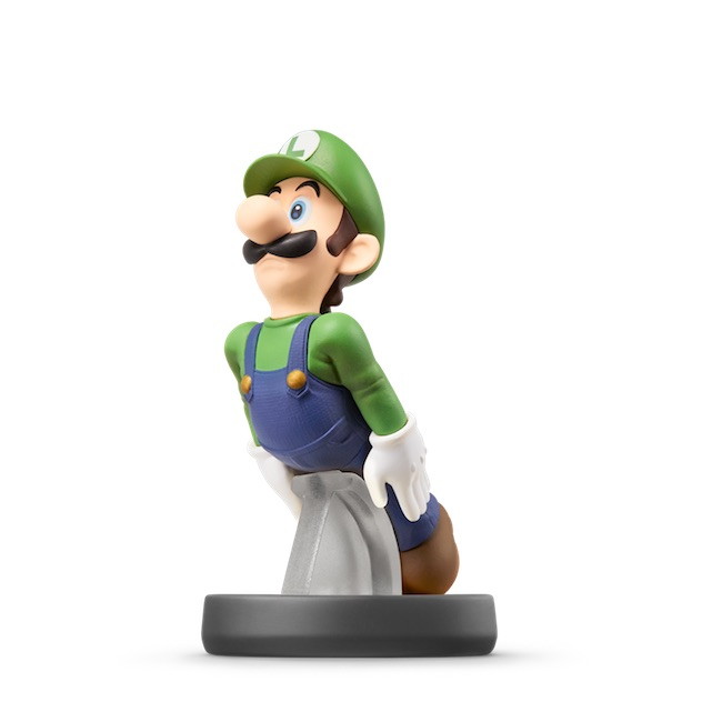 Luigi visible sur amiibo-collection.com