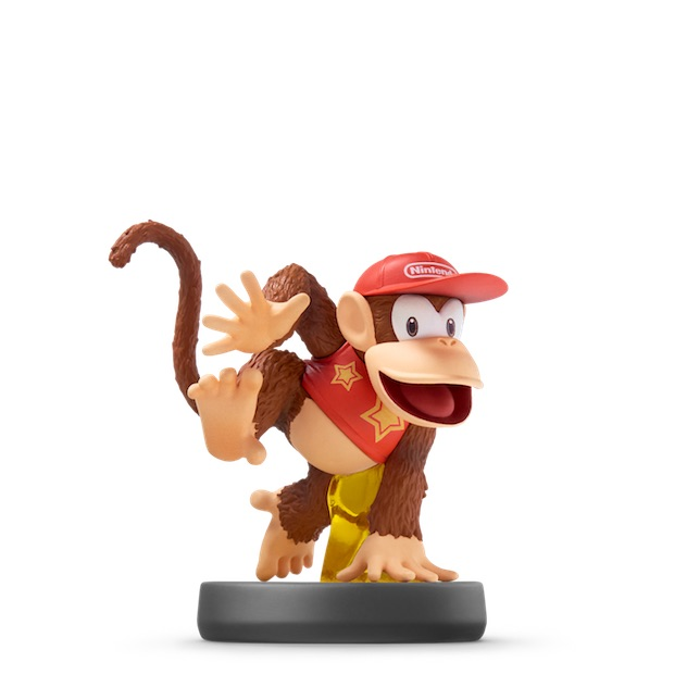 image de l amiibo Diddy Kong™ visible sur amiibo-collection.com