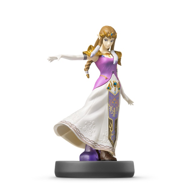 image de l amiibo Zelda visible sur amiibo-collection.com