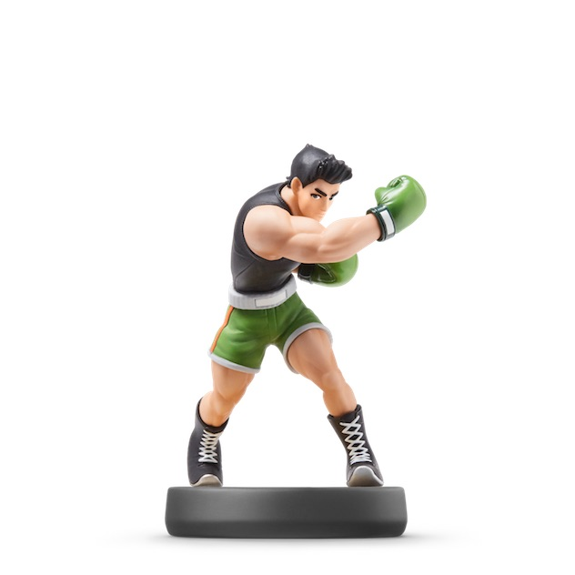 image de l amiibo Little Mac visible sur amiibo-collection.com