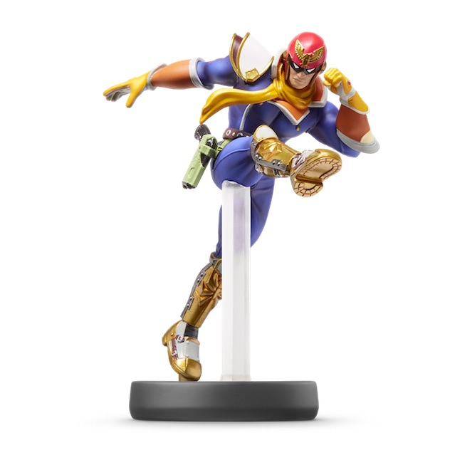 image de l amiibo Capitain Falcon visible sur amiibo-collection.com