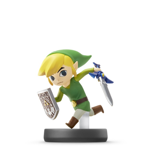 image de l amiibo Link Cartoon visible sur amiibo-collection.com