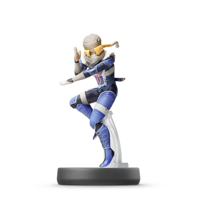 image de l amiibo Sheik visible sur amiibo-collection.com
