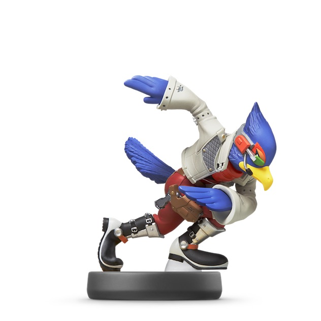image de l amiibo Falco visible sur amiibo-collection.com