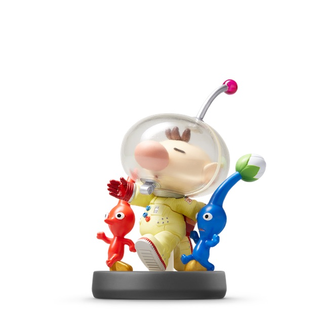 image de l amiibo Pikmin et Olimar visible sur amiibo-collection.com