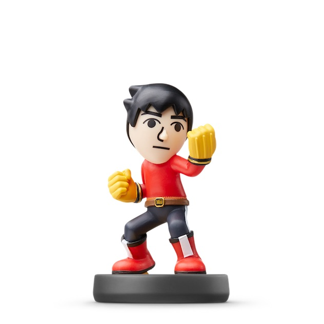 Boxer Mii visible sur amiibo-collection.com