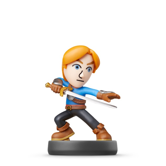 image de l amiibo Epéiste Mii visible sur amiibo-collection.com