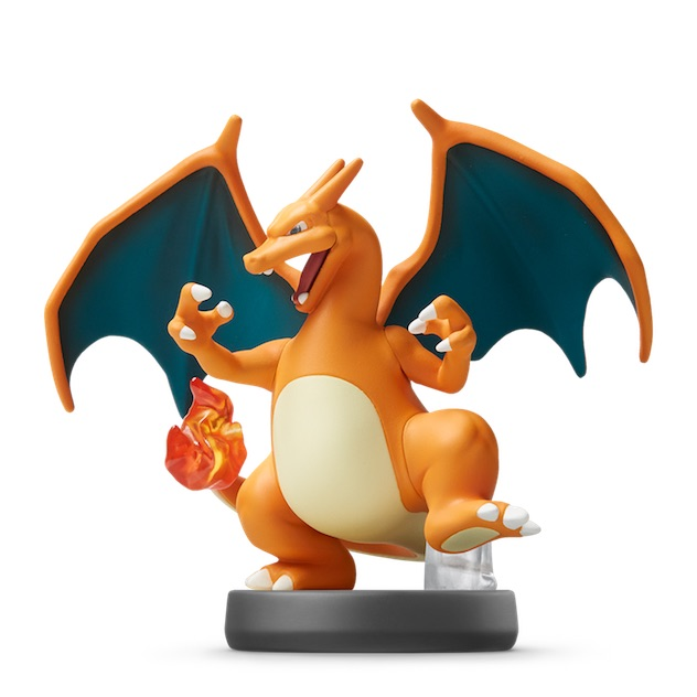 Dracaufeu visible sur amiibo-collection.com