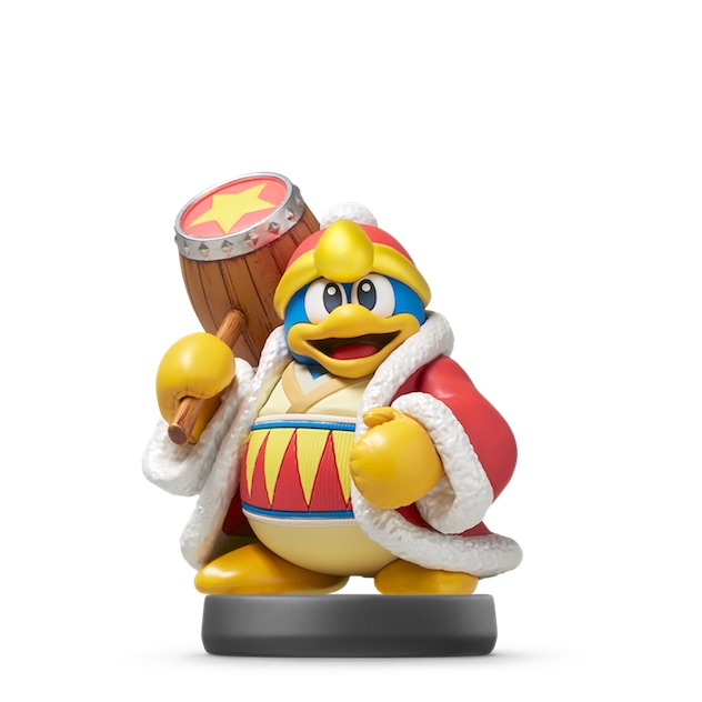 Roi Dadidou visible sur amiibo-collection.com