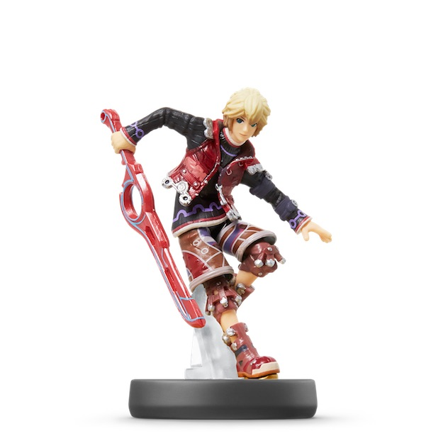 Shulk visible sur amiibo-collection.com