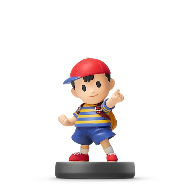 image de l amiibo Ness visible sur amiibo-collection.com