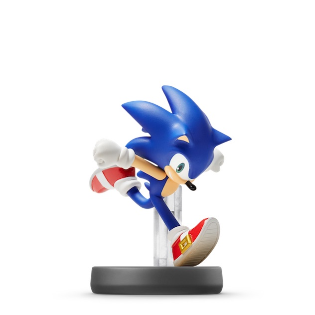image de l amiibo Sonic visible sur amiibo-collection.com