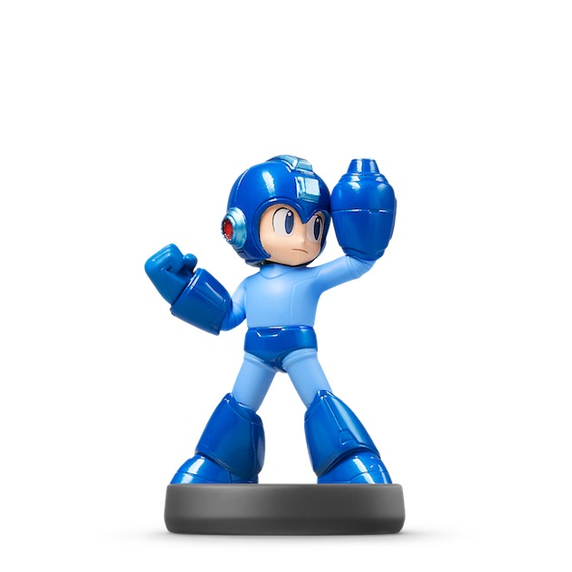 image de l amiibo Mega Man™ visible sur amiibo-collection.com