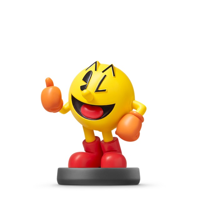 image de l amiibo PAC-MAN visible sur amiibo-collection.com