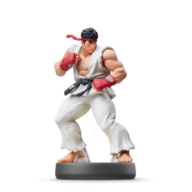Ryu visible sur amiibo-collection.com