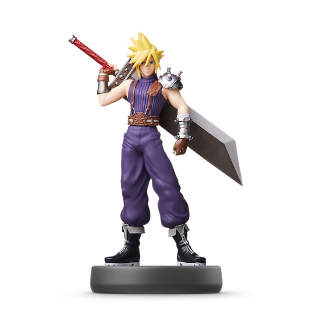 Cloud visible sur amiibo-collection.com