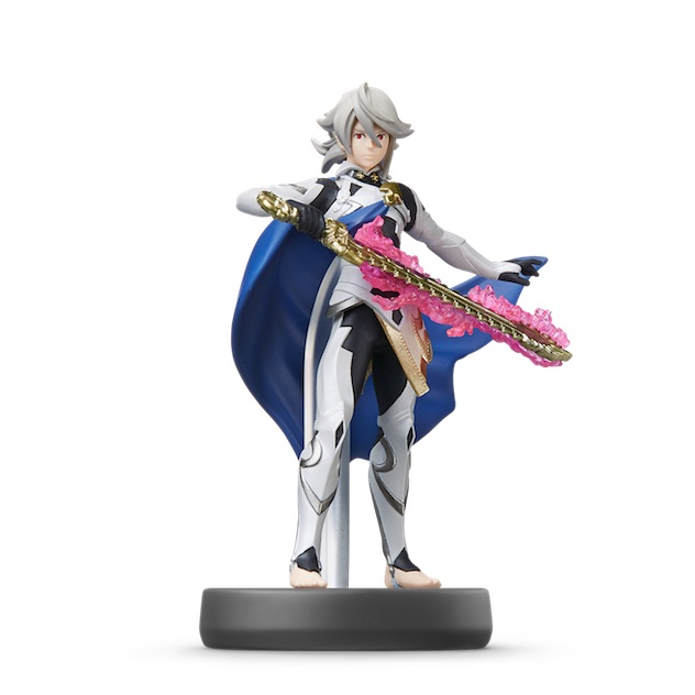 Corrin visible sur amiibo-collection.com