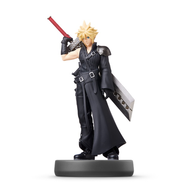 Cloud - Joueur 2 visible sur amiibo-collection.com