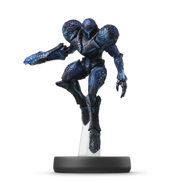 Sombre Samus visible sur amiibo-collection.com