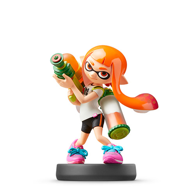 Voir l amiibo Fille Inkling
