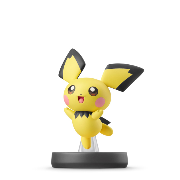 Pichu visible sur amiibo-collection.com