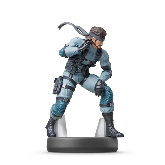 Voir l amiibo Solid Snake