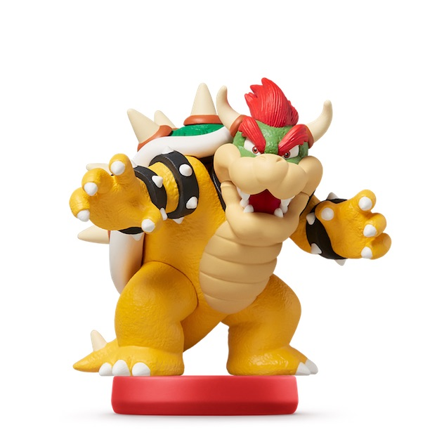 image de l amiibo Bowser™ visible sur amiibo-collection.com