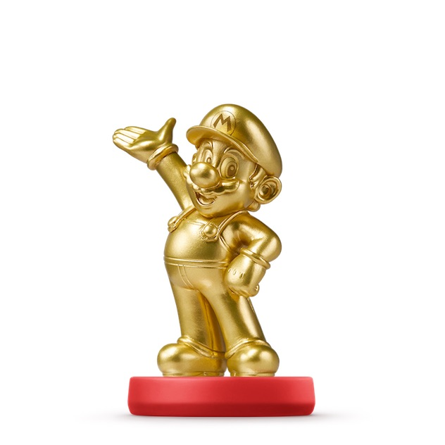 Mario édition Or visible sur amiibo-collection.com