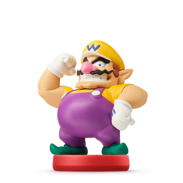 Wario visible sur amiibo-collection.com