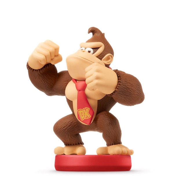 image de l amiibo Donkey Kong visible sur amiibo-collection.com