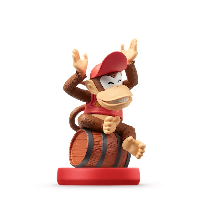 image de l amiibo Diddy Kong visible sur amiibo-collection.com