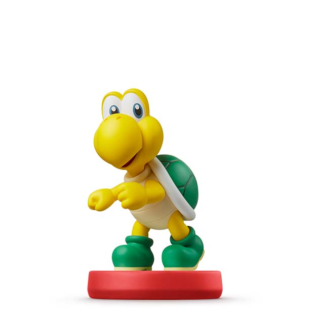 image de l amiibo Koopa Troopa visible sur amiibo-collection.com