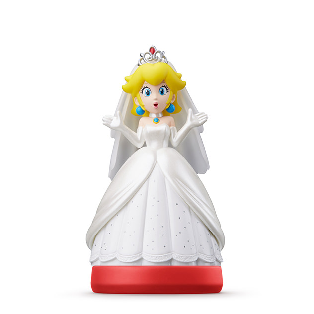 Peach (en tenue de mariage) visible sur amiibo-collection.com