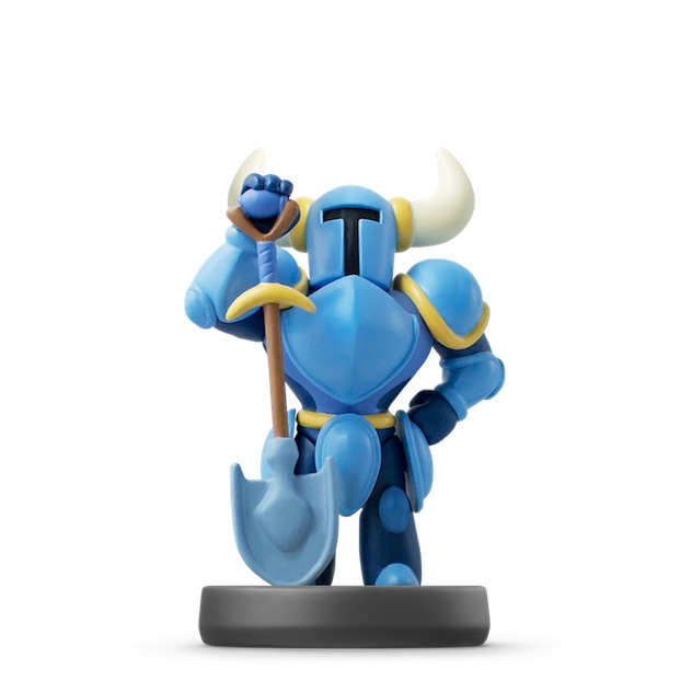 image de l amiibo Shovel Knight visible sur amiibo-collection.com