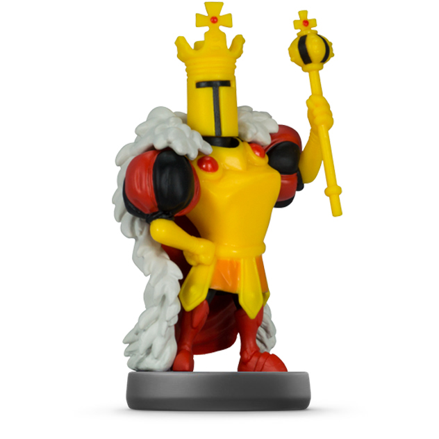 image de l amiibo King Knight visible sur amiibo-collection.com