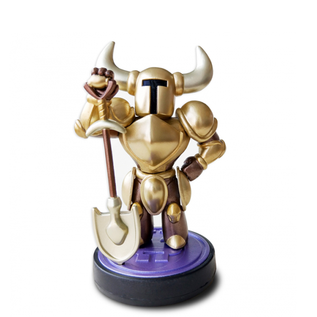 Visuel de l amiibo Shovel Knight édition Or