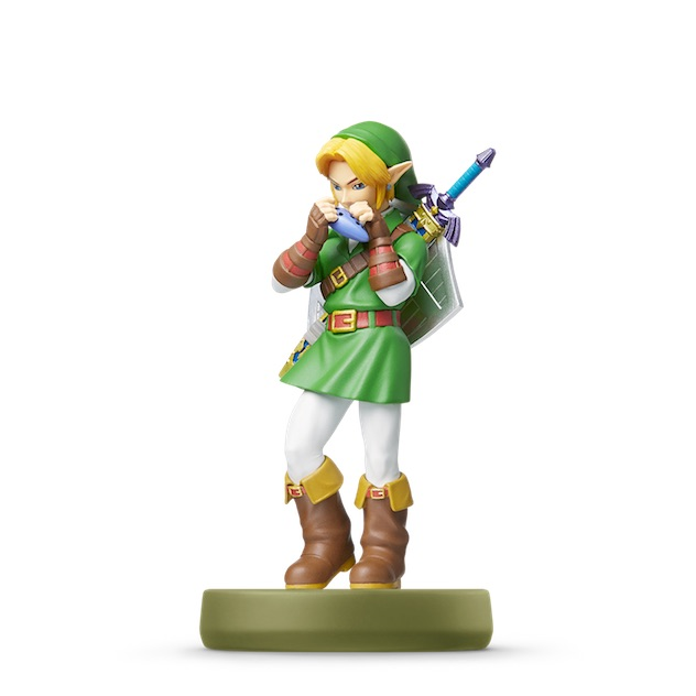image de l amiibo Link - Ocarina of Time visible sur amiibo-collection.com