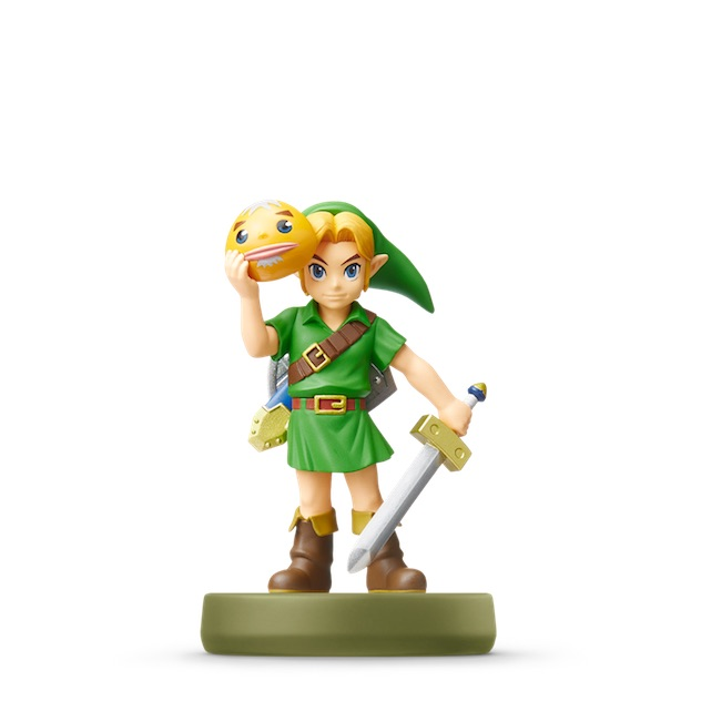 Link -  Majora's Mask visible sur amiibo-collection.com