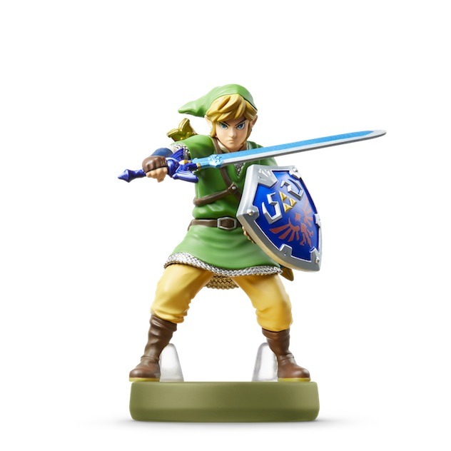 Visuel de l amiibo Link - Skyward Sword