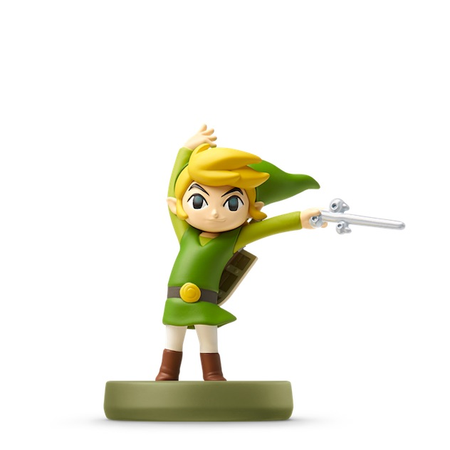 Voir l amiibo Toon Link - The Wind Waker