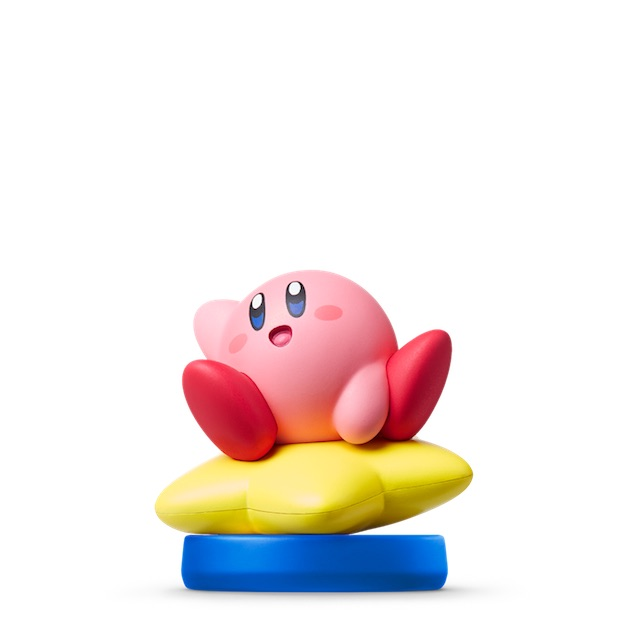 image de l amiibo Kirby visible sur amiibo-collection.com