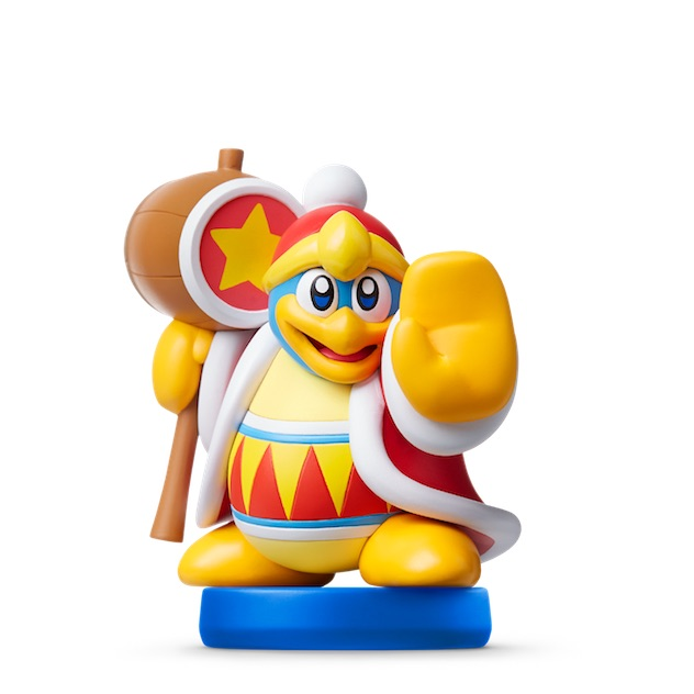 image de l amiibo Roi Dadidou visible sur amiibo-collection.com
